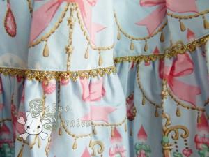 tokyo pirates sweetie chandelier skirt blue 4
