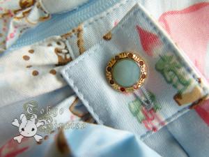 tokyo pirates sweetie chandelier skirt blue 9