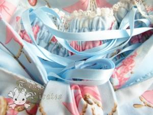 tokyo pirates sweetie chandelier skirt blue 10