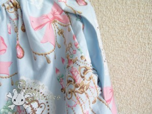 tokyo pirates sweetie chandelier skirt blue 13