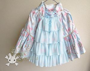 tokyo pirates sweetie chandelier skirt blue 14