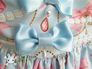 tokyo pirates sweetie chandelier skirt blue 17