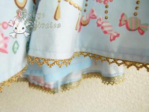 tokyo pirates sweetie chandelier skirt blue 18