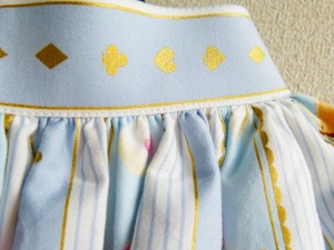 wonder party skirt blue 14