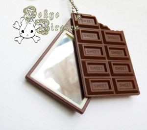 chocolate key holder