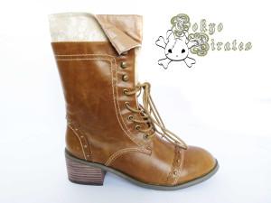 queen bee boots brown 1