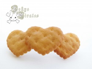 Paris Kids - Heart Biscuit Barette 2
