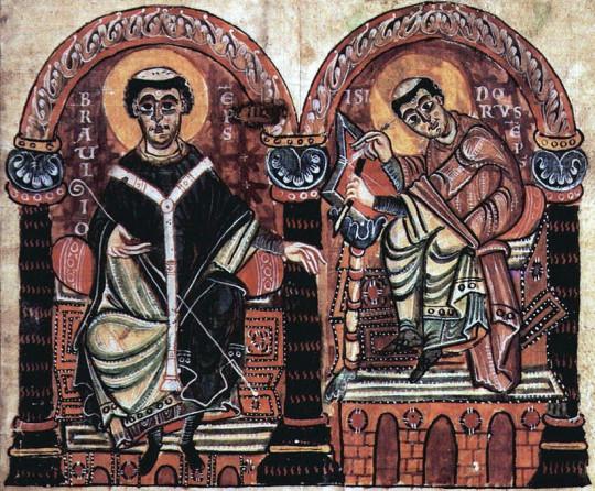 1. Свв. Браулион, еп. Цезаравгусты и Исидор, еп. Гиспальский