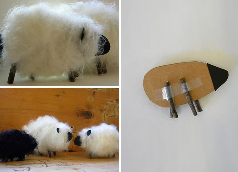 Как сделать овечек видео