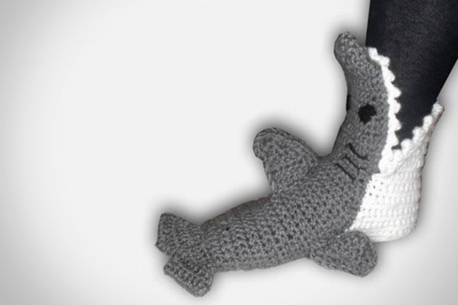 Crocheted-Shark