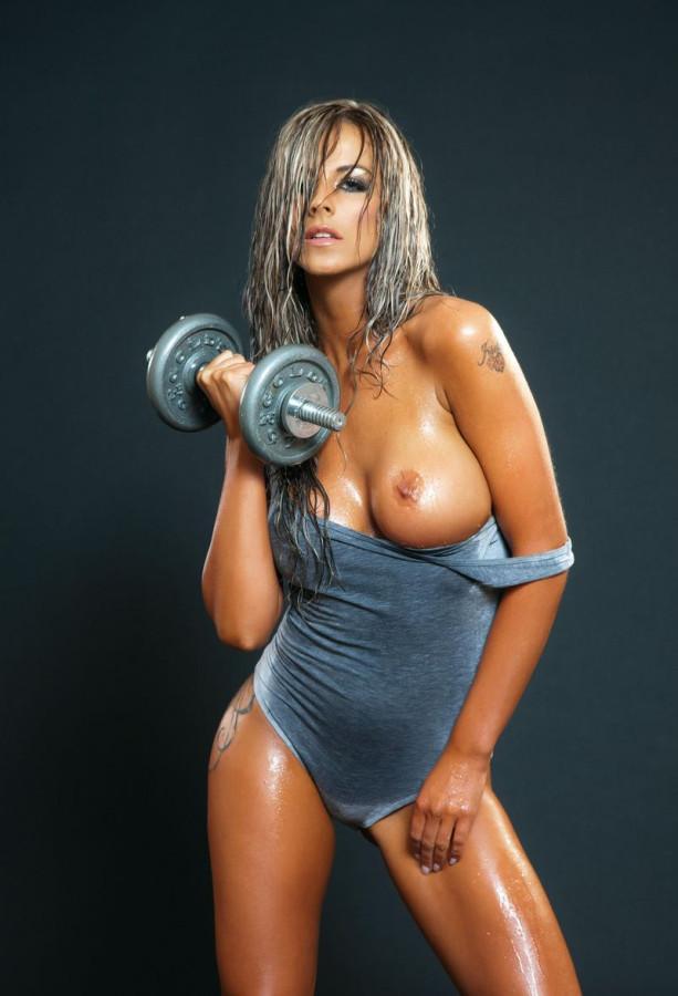 голые сексуальные спортсменки фото