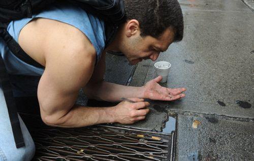 Золото и другие на драгметаллы на улицах Нью-Йорка