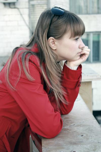 Оля Агафонова.