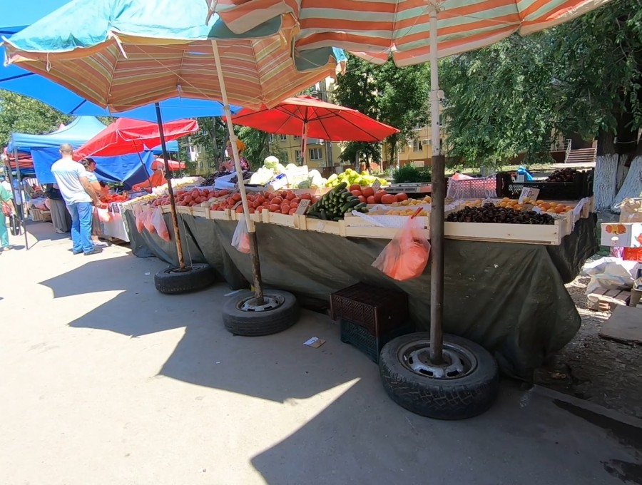 Рынок под крышей