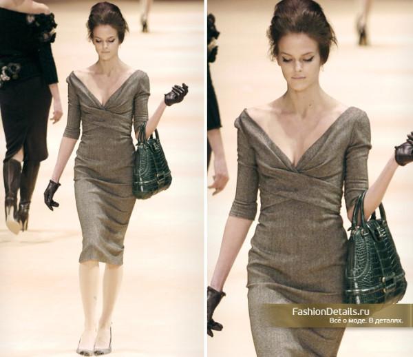 Платье от Alexander McQueen FW 2005