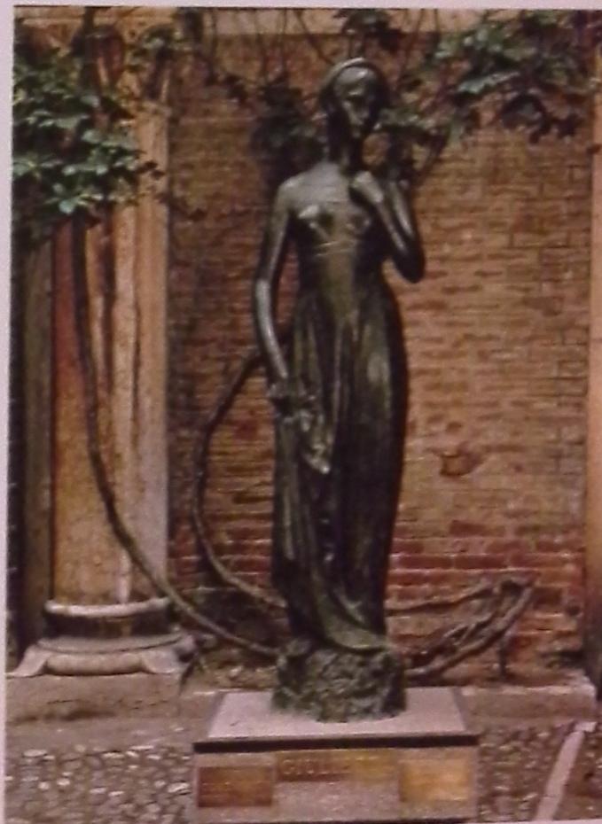 памятник Джульетты