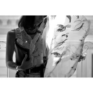 bird_print_skirt
