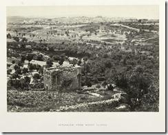 Вид на старый город с Елеонской горы