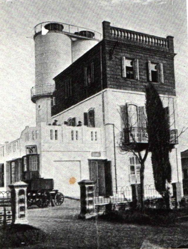 Водонапорная башня и поселковый совет, 1910 год
