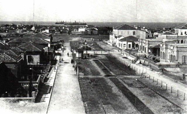 Бульвар Ротшильд, 1920й год