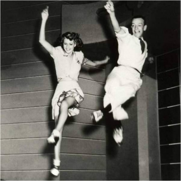 Rita Hayworth and Fred Astaire