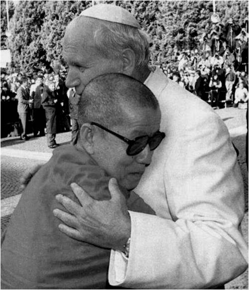 The Pope and the Dalai Lama