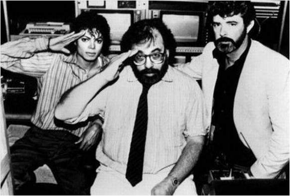 Michael Jackson, Francis Ford Coppola and George Lucas