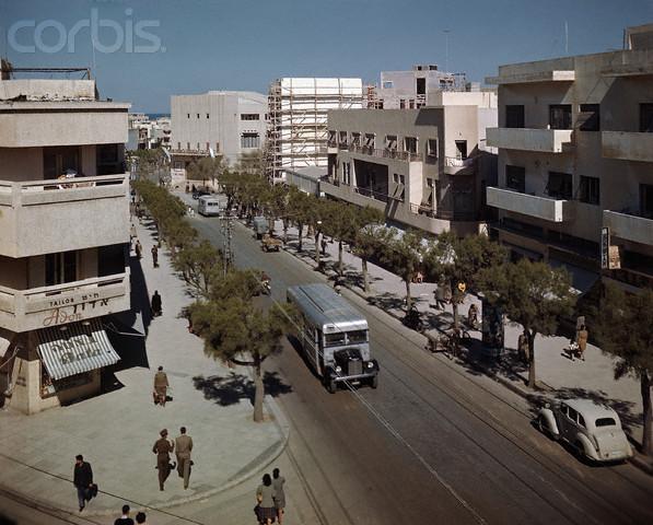 улица Алленби 1948-й год