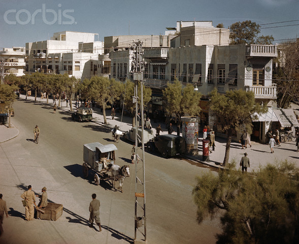 Улица Алленби, 1948-й год