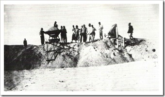 1910 Preparing Ground For Nachalat Binyamin Street
