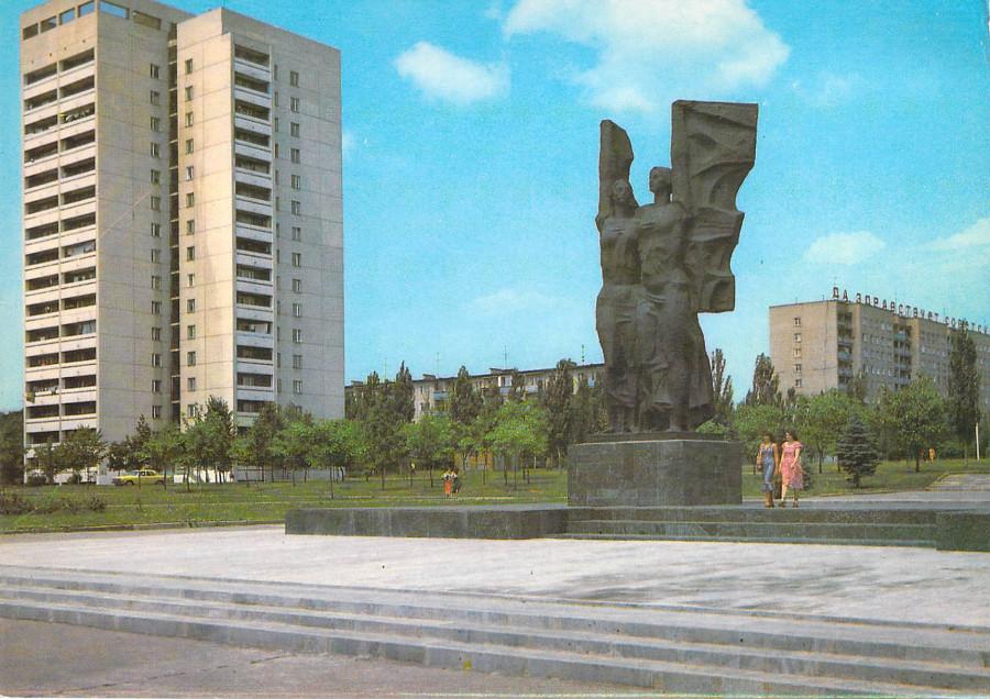 На площади имени болгарского города побратима Плевена