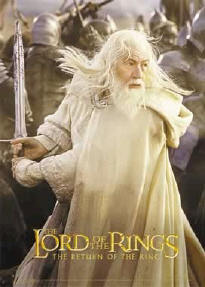 Гендальф со своим мечом Гламдринг