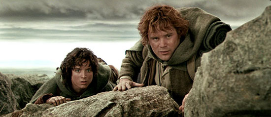 Фродо без Сэма...1