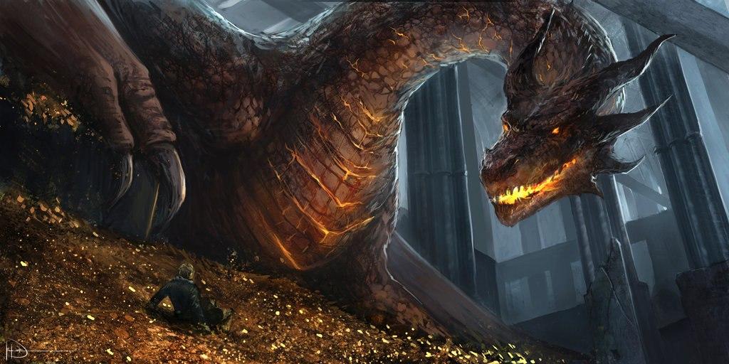 хоббит пустошь смауга дракон фото 3818442