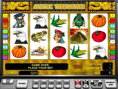 Сокровища Ацтеков avtomat_aztec_treasure