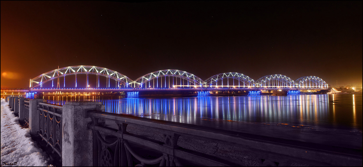 Мост через Даугаву1