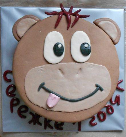 Торт обезьянка своими руками