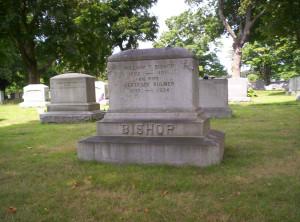 Bishop Family Plot Monument