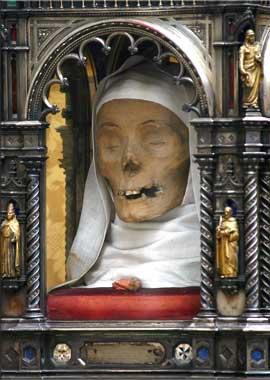 capo di Santa Caterina da Siena_ciesa San Domenico