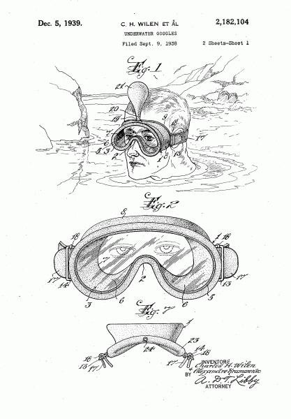 Патент Александра Крамаренко на маску для ныряния.png