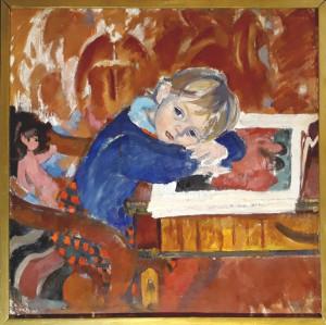 Богаевская_Катя с книгой, 1973