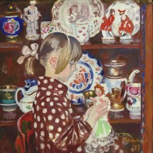 Богаевская_Катя с куклой, 1977