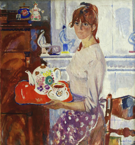 Богаевская_портрет Натальи, 1967