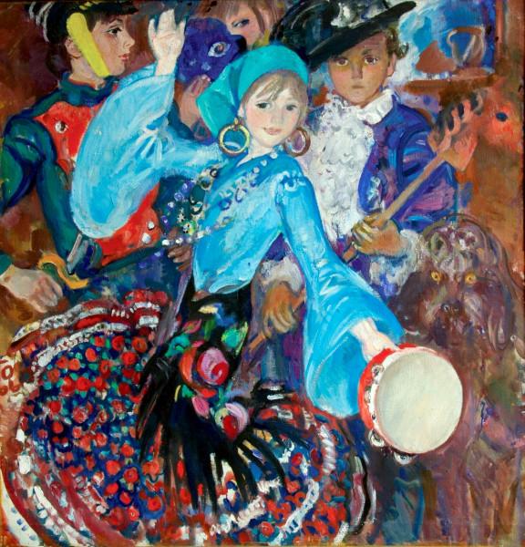 Богаевская_Танец (Катя), 1978