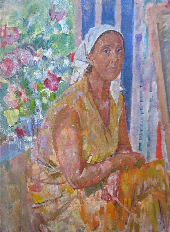 Г.Савинов_Портрет О. Богаевской,1982