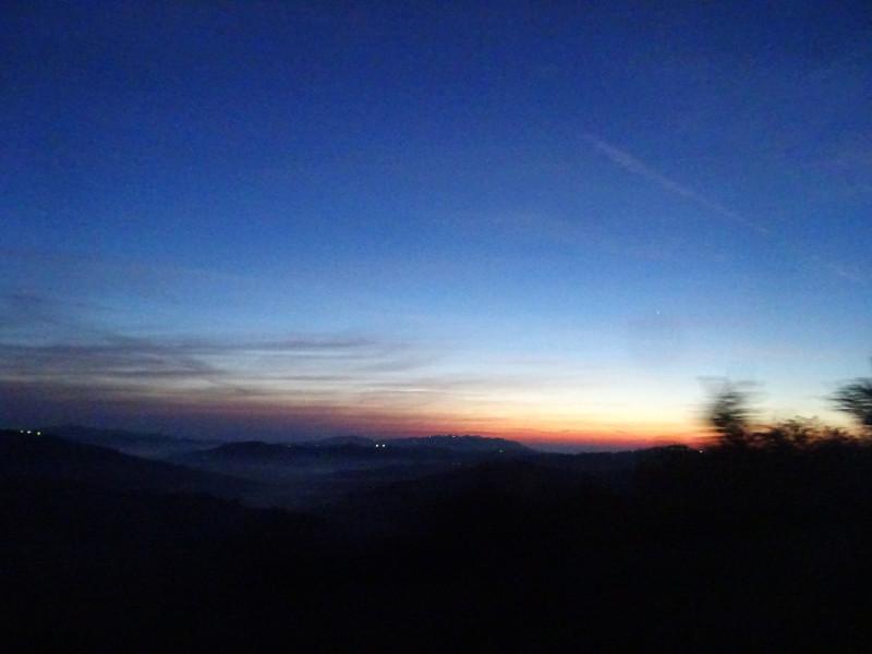 Рассветное небо