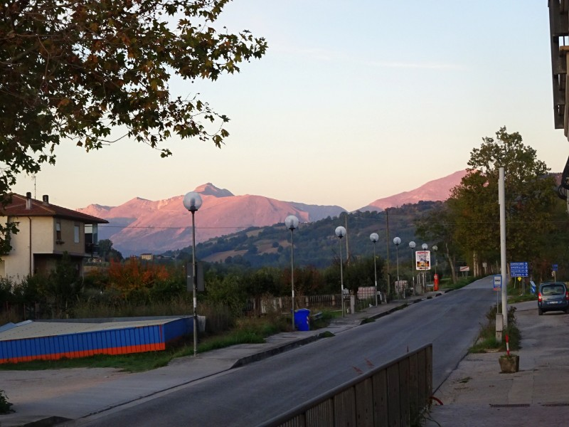 Далекие горы