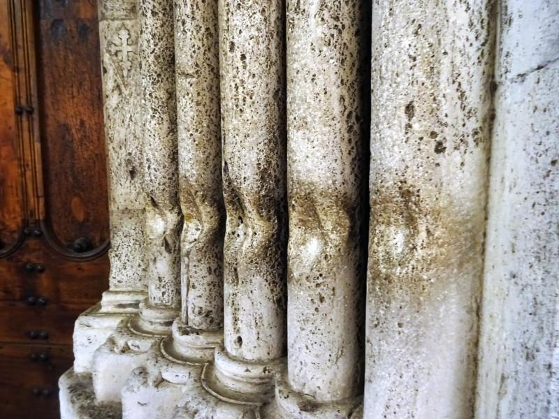 Стертые колонны