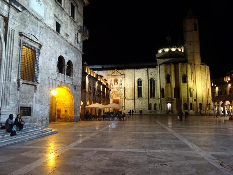 Piazza del Popolo вечером - 2