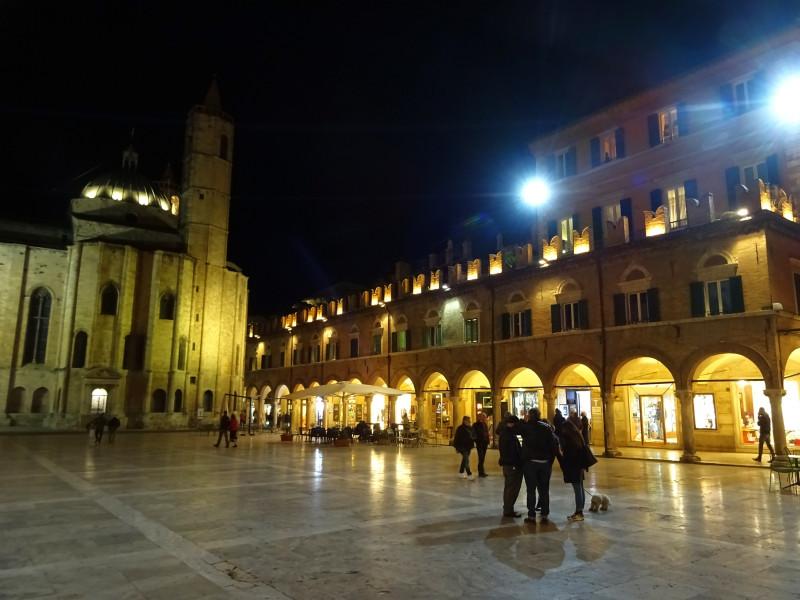 Piazza del Popolo вечером - 3
